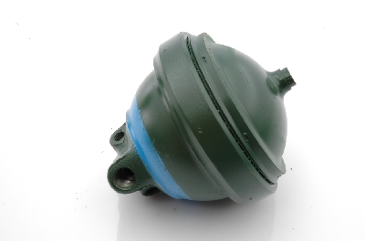 Brake accumulator sphere, LHM, 3 pipe version (price includes refundable surcharge)
