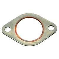 Exhaust pipe gasket, oval
