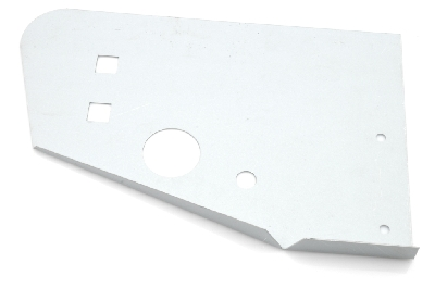 Repair section for left side of rear panel