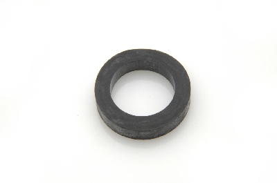 Rubber washer for rear bumper mounting