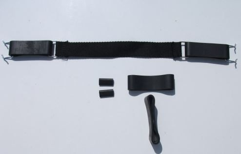Strap and rubber set for seat >10/68