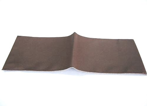 Brown leather cover for drivers handbook
