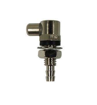 Screen wash nozzle, single jet. Universal.
